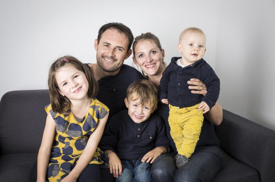 La sortie des tout petits et des plus grands – Angers- Séance photo famille