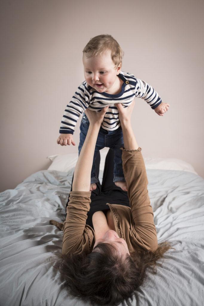 Bébé Evan 7 mois 2