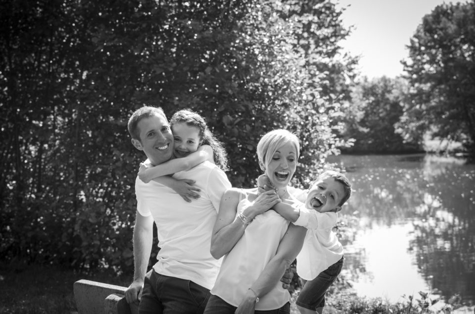 Séance photo famille – Parc du château -Maine et Loire