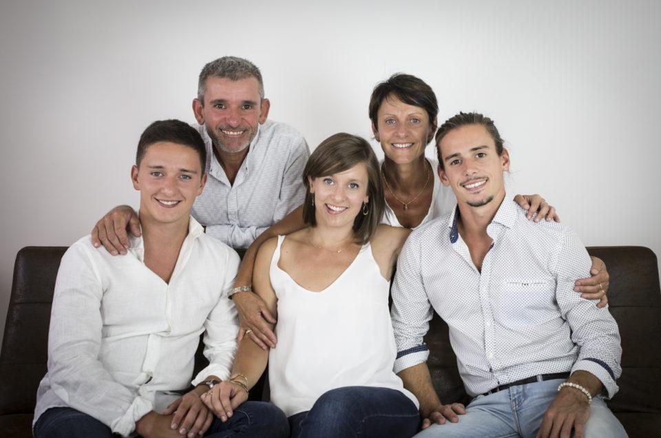 Photos de Famille en studio – Chemillé
