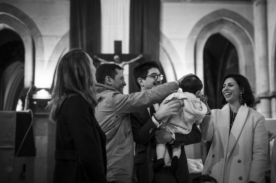 Le baptême de Gabriel – Photo reportage évènement – île-de-France