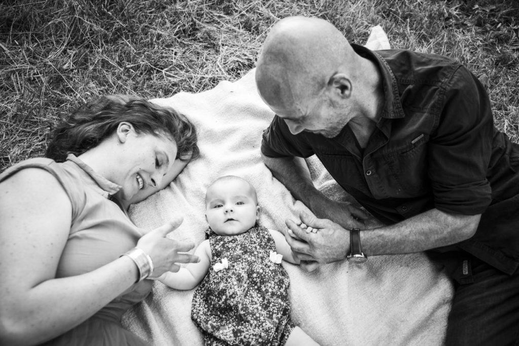 Photo de famille dans les vignes 5