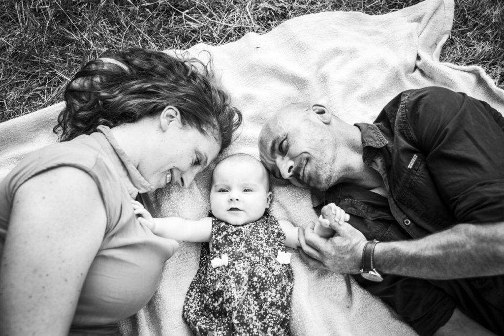 Photo de famille dans les vignes 6