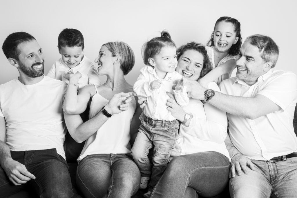 séance photo famille au studio 1