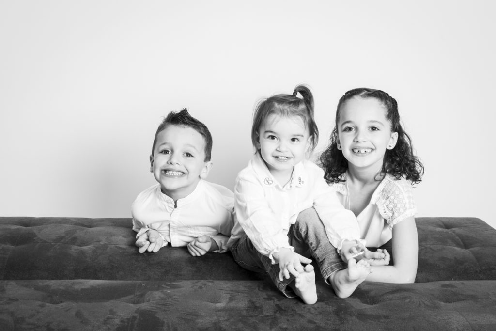 séance photo famille au studio 7