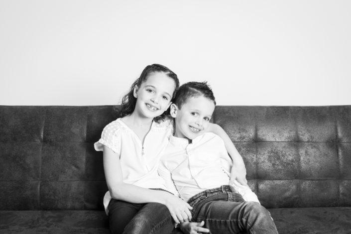 séance photo famille au studio 12