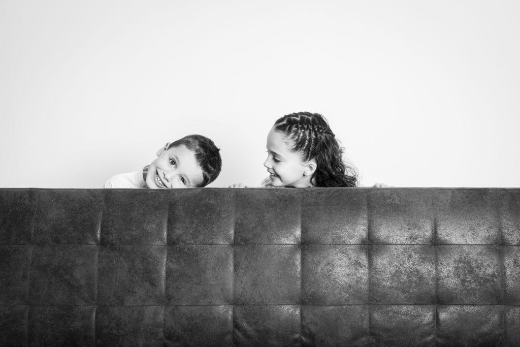 séance photo famille au studio 13