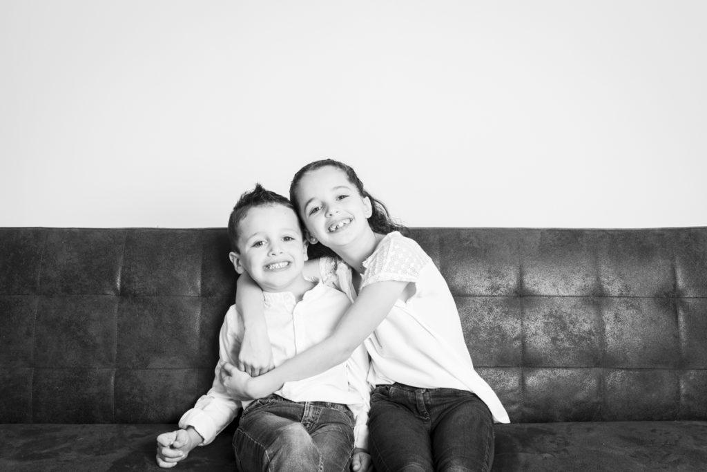 séance photo famille au studio 15