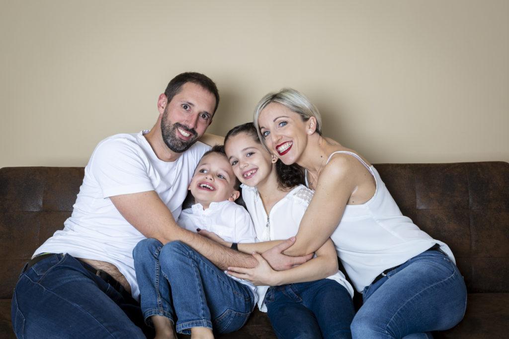 séance photo famille au studio 17