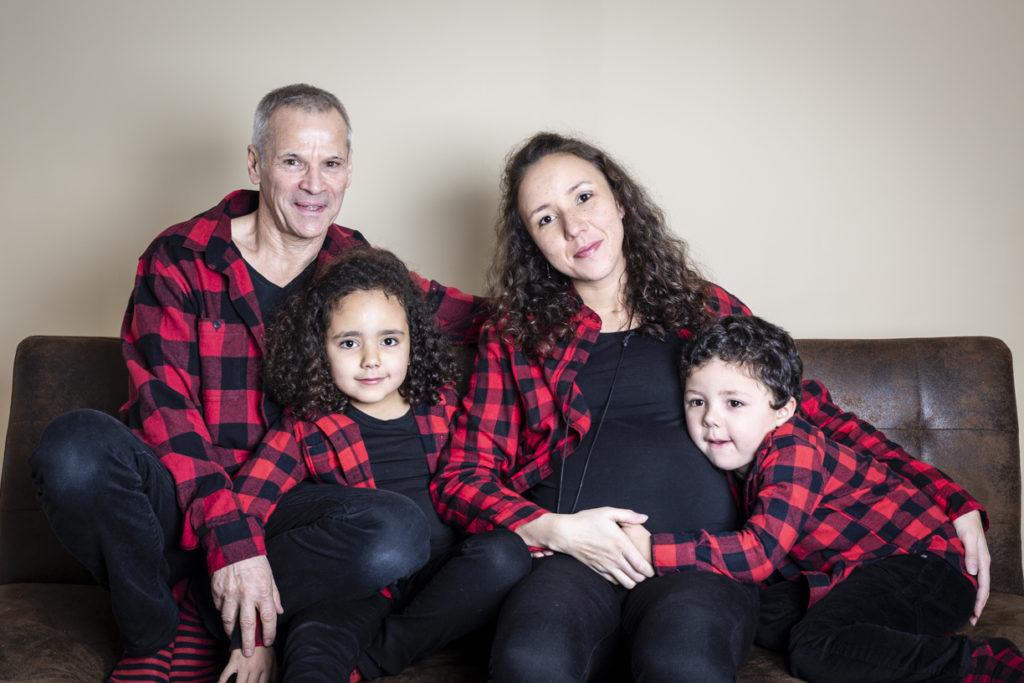 séance photo grossesse en famille 1
