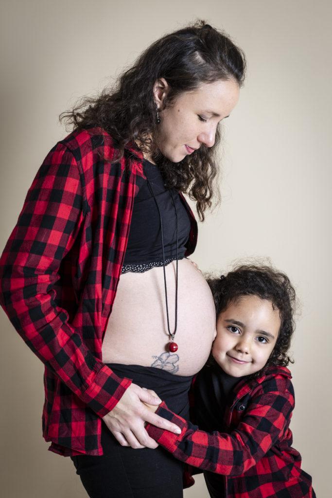 séance photo grossesse en famille 5