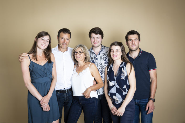 Séance découverte famille au studio 5