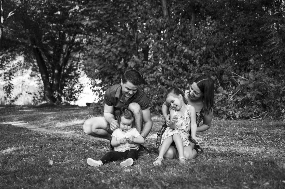 Photos lifestyle en famille – Parc du château de Gonnord – Valanjou