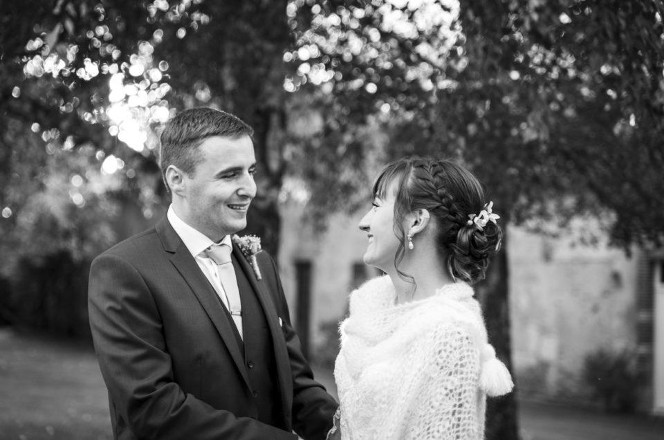 Mariage en octobre – C. et G. – Doué-la-Fontaine / Montilliers