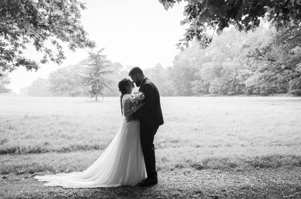 Mariage sous la pluie – Photographe mariage – Angers / Cholet